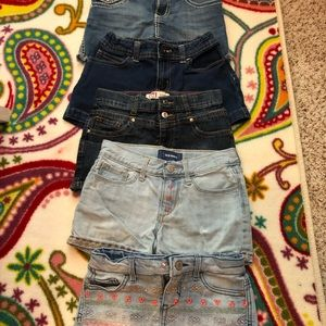 Other - Girls shorts bundle.  5 in the bundle